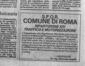 Repubblica 30 luglio 1990 avviso pup